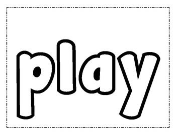 Journeys First Grade Sight Words Play-Doh Practice Mats by