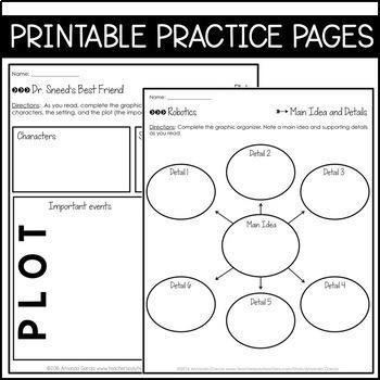 Journeys 6th Grade Unit 5 BUNDLE: Interactive Supplements