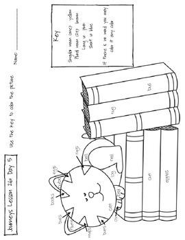 Journeys Kindergarten Lesson 26 Homework by Kawaii