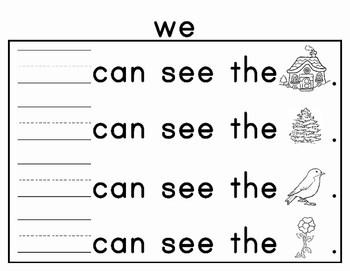 Journeys Kindergarten Sight Word Journal 2011 Edition by