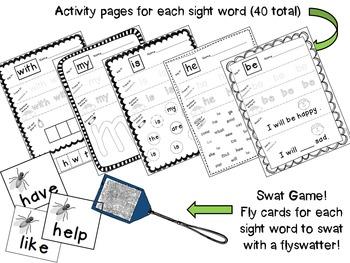Journeys Kindergarten Sight Word Mega Pack {2011 edition