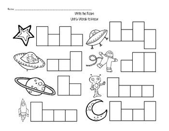 Journeys Kindergarten Sight Words: Read & Write the Room