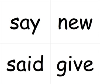 Journeys Reading Word Wall Cards for Kindergarten by