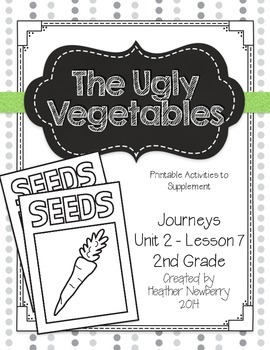 Journeys: The Ugly Vegetables (Unit 2, Lesson 7) by