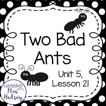 Third Grade: Two Bad Ants (Journeys Supplements) by