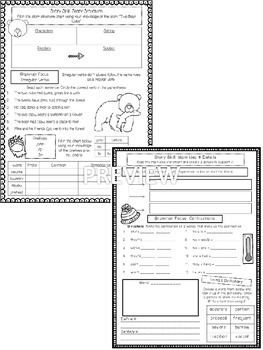 Journeys Unit 4 (Third Grade): Skill Practice Sheets by