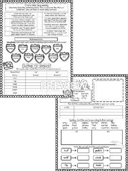 Journeys Unit 5 (Third Grade): Skill Practice Sheets by