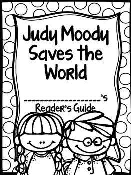Judy Moody Saves the World Journey's Activities Third