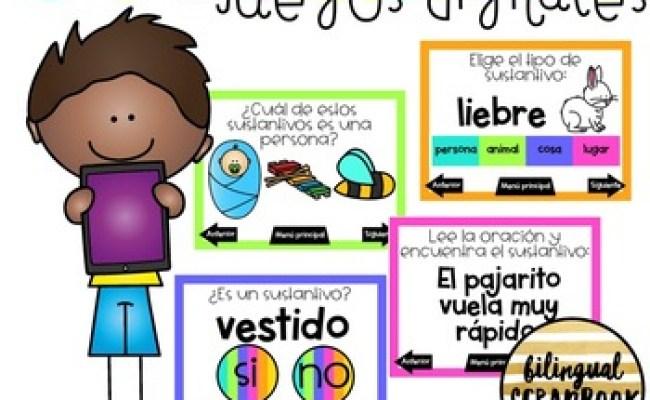 Juegos Digitales De Sustantivos Nouns Interactive Pdf