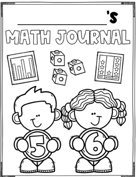 Summer Review Math Journal (1st Grade) by Missing Tooth