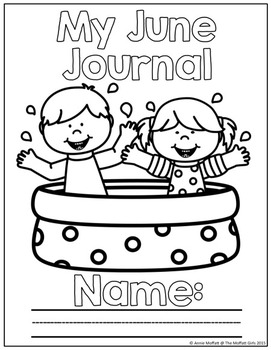 June NO PREP Journal Prompts for Beginning Writers by The
