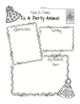 Junie B. Jones Activities Books 6-10 by Perfectly Primary