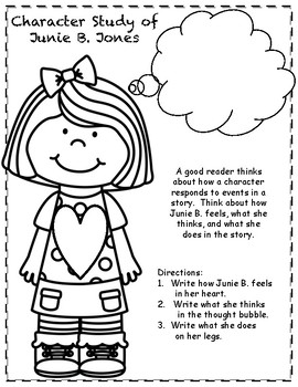 Junie B. Jones and the Stupid Smelly Bus Reading Response