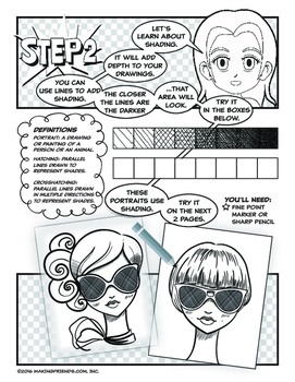 Girl Scout Junior Superhero Drawing Badge Download by