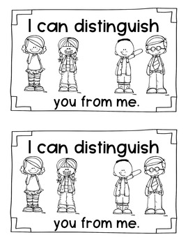 Academic Vocabulary DISTINGUISH by First Grade Frame of