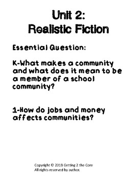K-1 Realistic Fiction Writing Unit by Two Teachers with