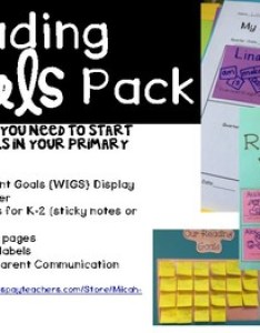 also  reading goals pack display goal cards and notebook by micah wall rh teacherspayteachers