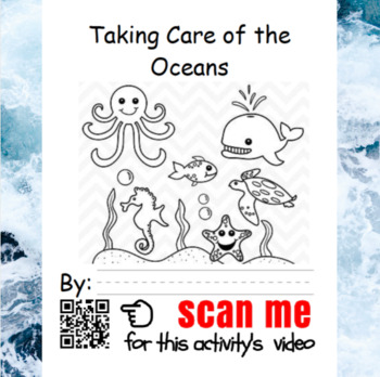 K-5 Writing Oceans 5-Day Lesson Plan w/ Video