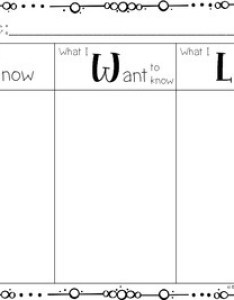 Kwl chart freebie also teaching resources teachers pay rh teacherspayteachers