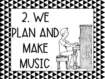 Kid-Friendly Music Standards (NAFME standards) Black and