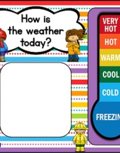 Kids  colors weather chart also by the teaching treehouse tpt rh teacherspayteachers