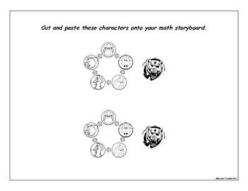 Kinder Math Storyboard Lesson Plan for Who's in the Shed