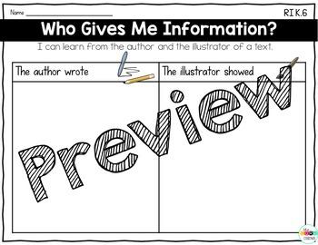 Kindergarten: 9 Simple Informational Text Strategies to