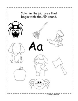Kindergarten Alphabet Interactive Notebook Fun by