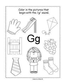 Kindergarten Alphabet Interactive Notebook Fun by