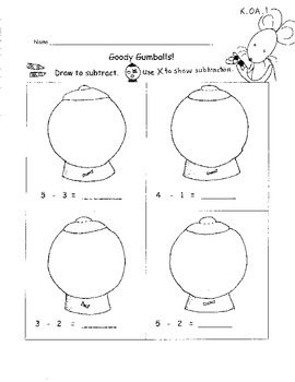 Kindergarten Common Core Addition and Subtraction within