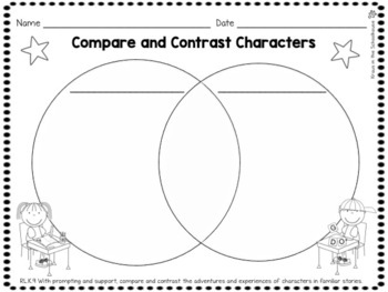 Kindergarten Common Core Graphic Organizers by Kraus in