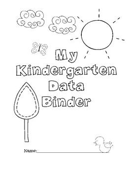 Kindergarten Data Binder for Math and Literacy by Teach