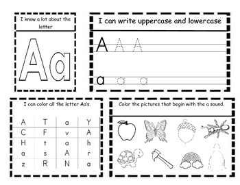 Kindergarten ELA Interactive Letter and Sound Notebooks by