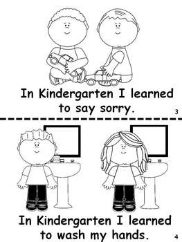 Kindergarten Graduation Easy Reader by Puppet Korner N