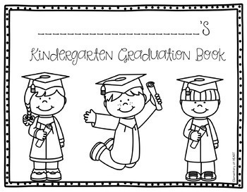 Kindergarten Graduation Editable Printables by Elementary
