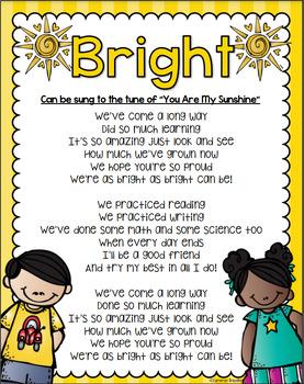 kindergarten graduation poem or