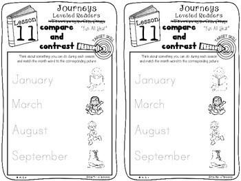 Kindergarten Journeys Unit 3 Interactive Notebook