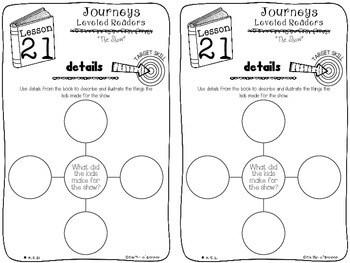 Kindergarten Journeys Unit 5 Interactive Notebook