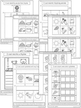 Kindergarten ELA Interactive Notebook ~ Phonics