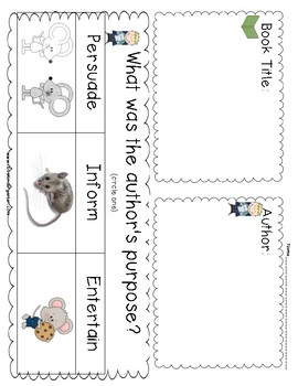 Kindergarten Listening Center Response Sheets by