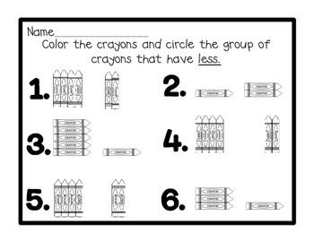 Kindergarten Envision Math Topic Two Centers by Laughing