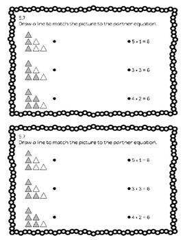 Kindergarten Math Expressions Unit 5 Exit Slip Journal by