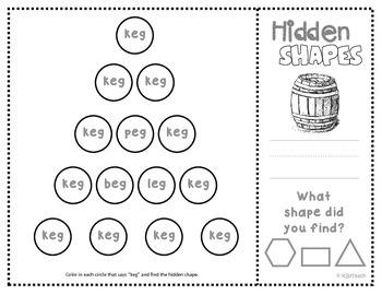Shapes: CVC Mystery Shapes