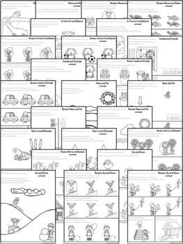 Kindergarten Math ~ Positional Words by Erin Thomson's