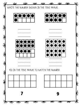 Kindergarten Math Skills Assessment by A Piece of the Pi