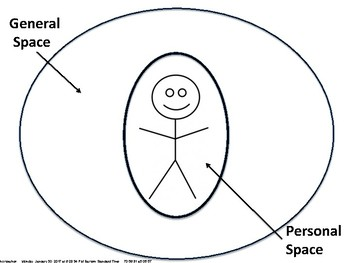 Kindergarten Personal Space Graphic Organizer by The Polka