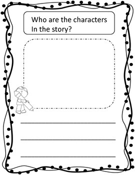 Kindergarten Readers Response Journal Bundle (fiction and