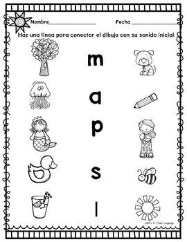 Kindergarten Review in Spanish Repaso de Kinder by Mrs G
