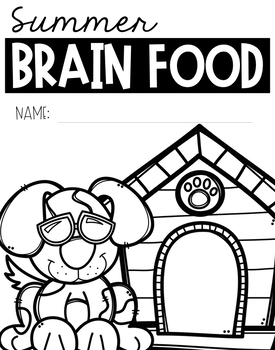 Kindergarten Summer Brain Food {Summer Packet} by Berry