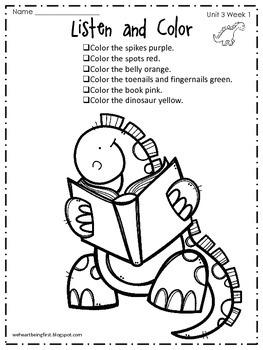 Kindergarten Wonders Reading Supplement ~ Unit 3 Bundle by